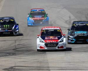 Rallycross: Peugeot 208 WRX e Loeb secondi in Portogallo