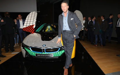 Memphis Design con BMWi e Garage Italia Customs