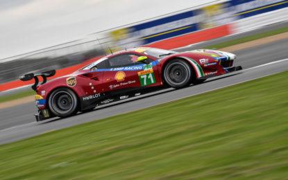 WEC: prima e terza fila per le Ferrari a Silverstone