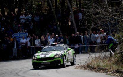 Trofeo Abarth 124 Rally: a Sanremo vittoria di Andolfi