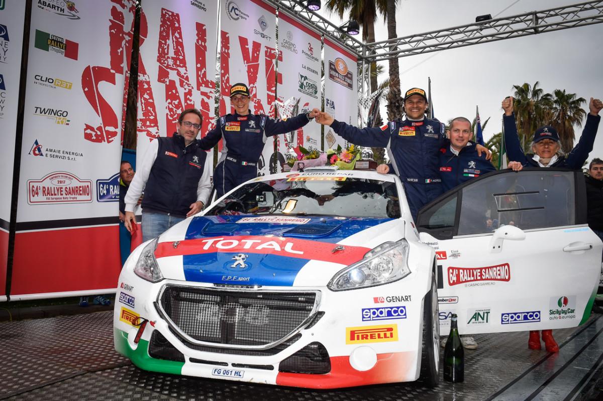 Peugeot conquista il Rallye di Sanremo