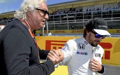 Briatore a Radio 24 su Alonso, Ferrari, McLaren, Hamilton, Rossi e la Cina