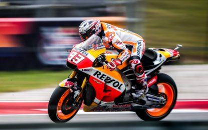 MotoGP: quinta pole in Texas per Marquez