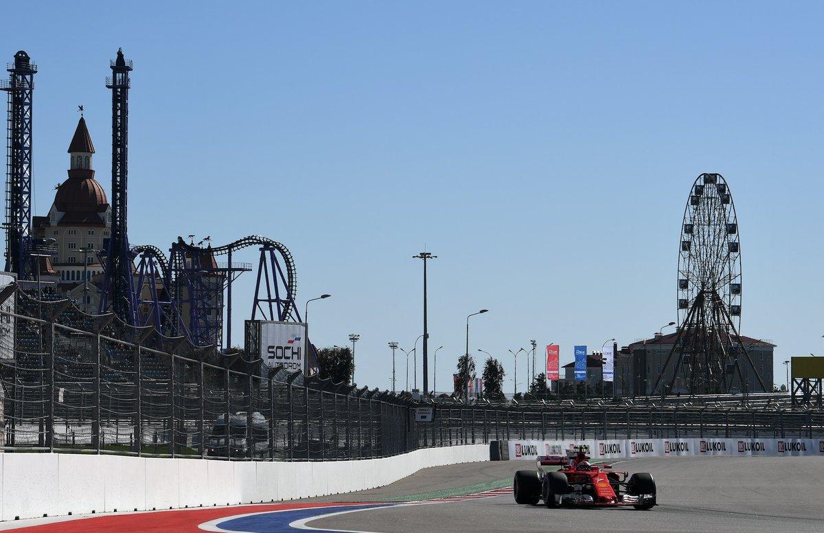 GP Russia: le Ferrari davanti alle Mercedes nelle FP2