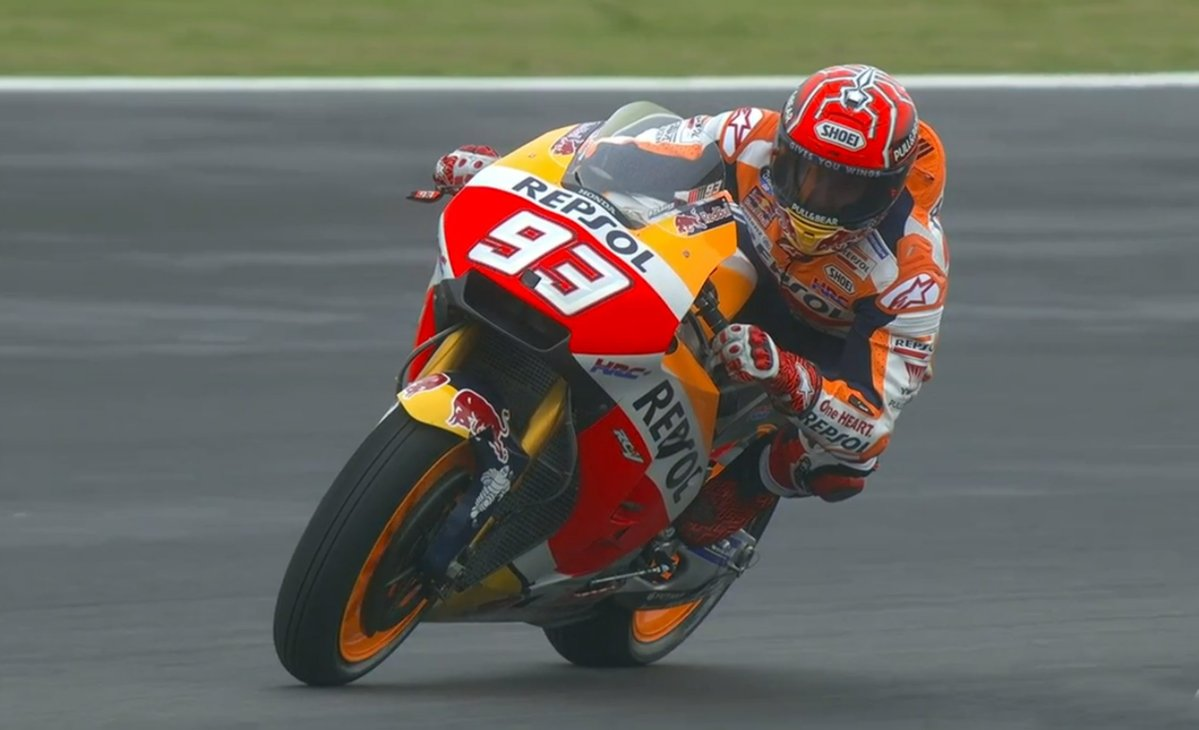 Quarta pole in Argentina per Marquez