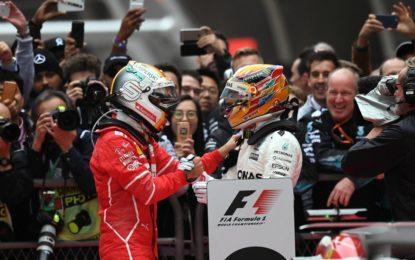 Cina: Hamilton, Vettel e Verstappen sul podio di Shanghai