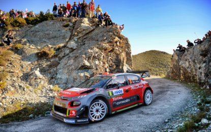 WRC Corsica: Meeke costretto al ritiro, Breen in corsa per il podio