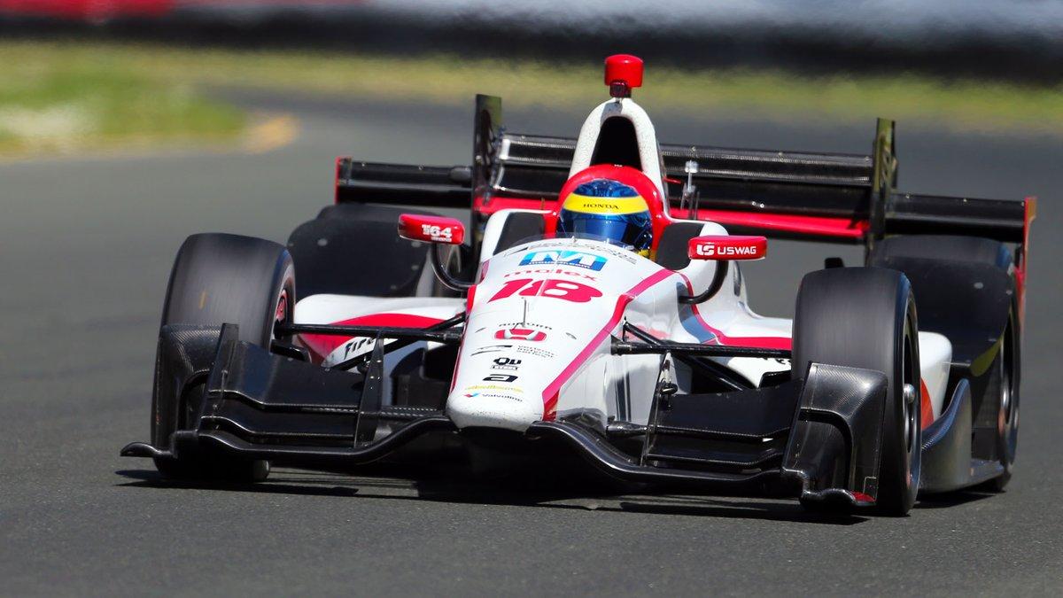 Questa sera la IndyCar in Alabama. Nel paddock anche Alonso