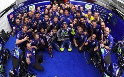 Valentino Rossi: 350 GP e la grinta di sempre