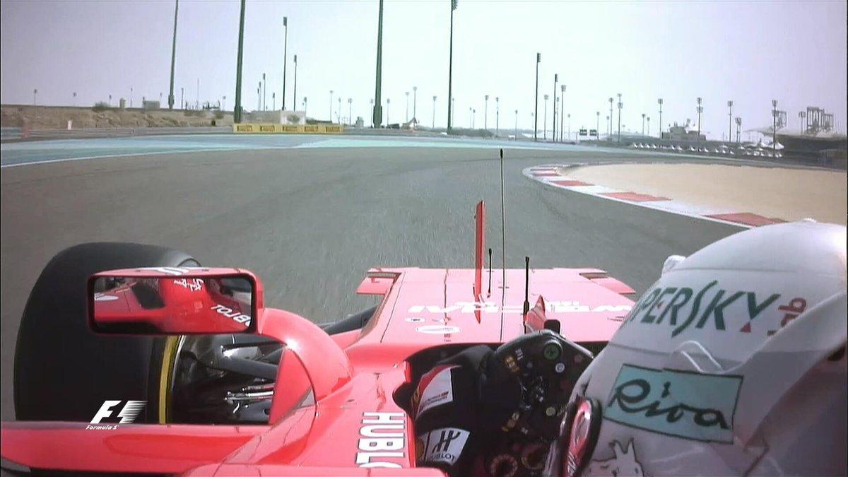 Bahrain: Vettel domina le FP1 davanti alle Red Bull