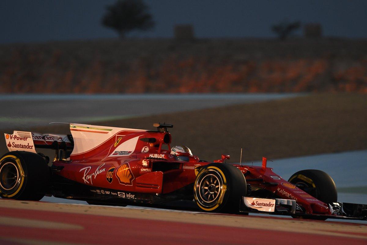 Bahrain: ancora Vettel nelle FP2, davanti a Bottas e Ricciardo