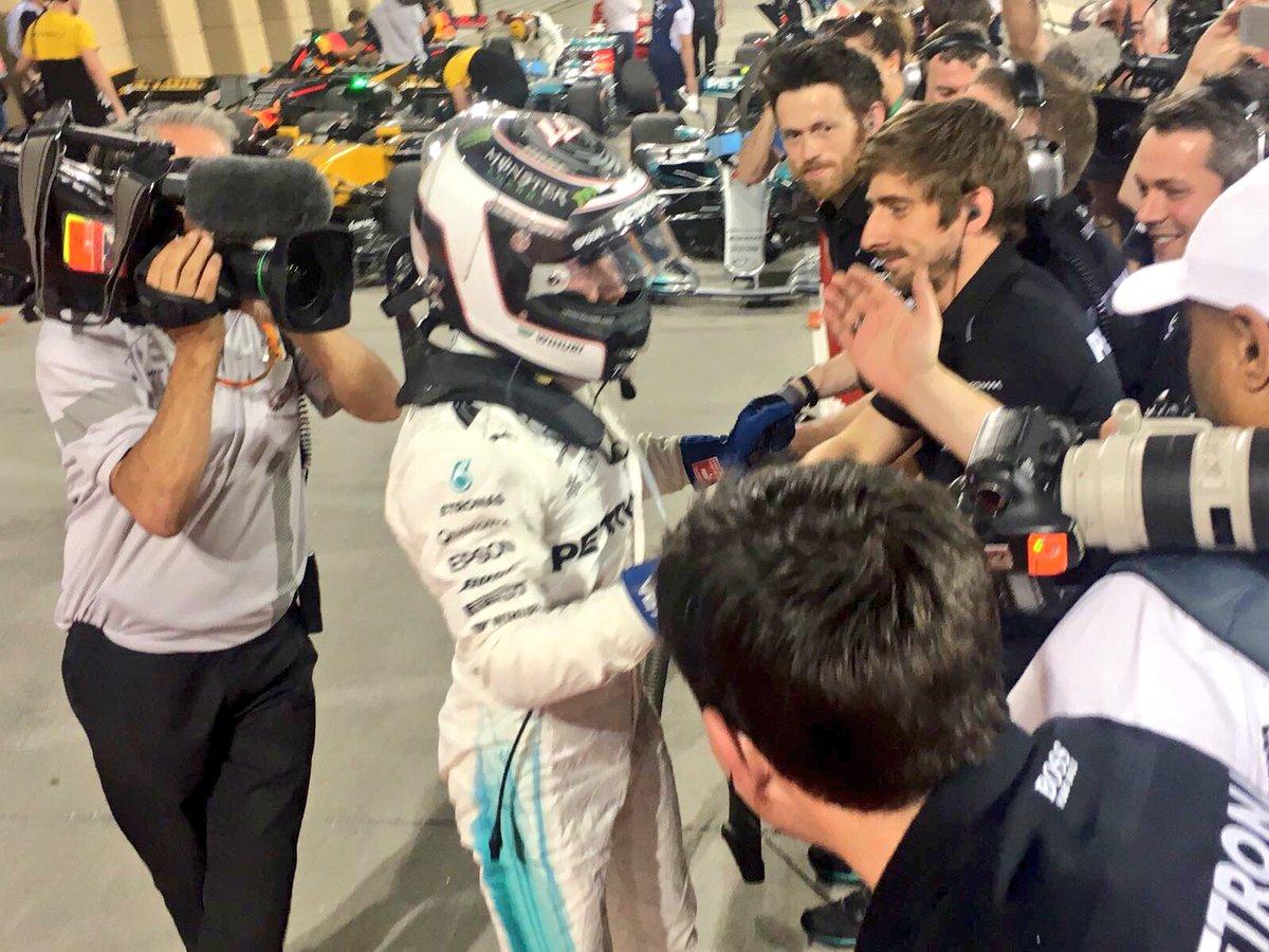 Bottas: e alla quinta stagione finalmente la pole!