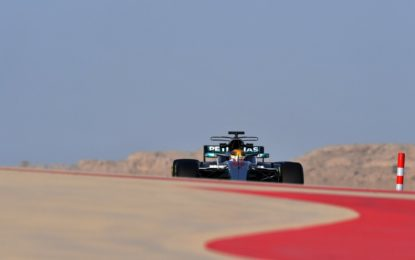 Bahrain: Hamilton e Giovinazzi nel primo giorno di test in-season