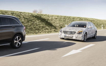 Nuova Mercedes Classe S: Intelligent Drive