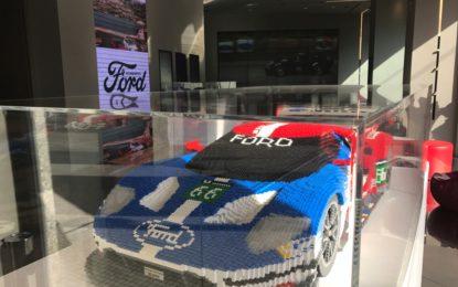 Ford GT40 del '66 e Ford GT in versione LEGO