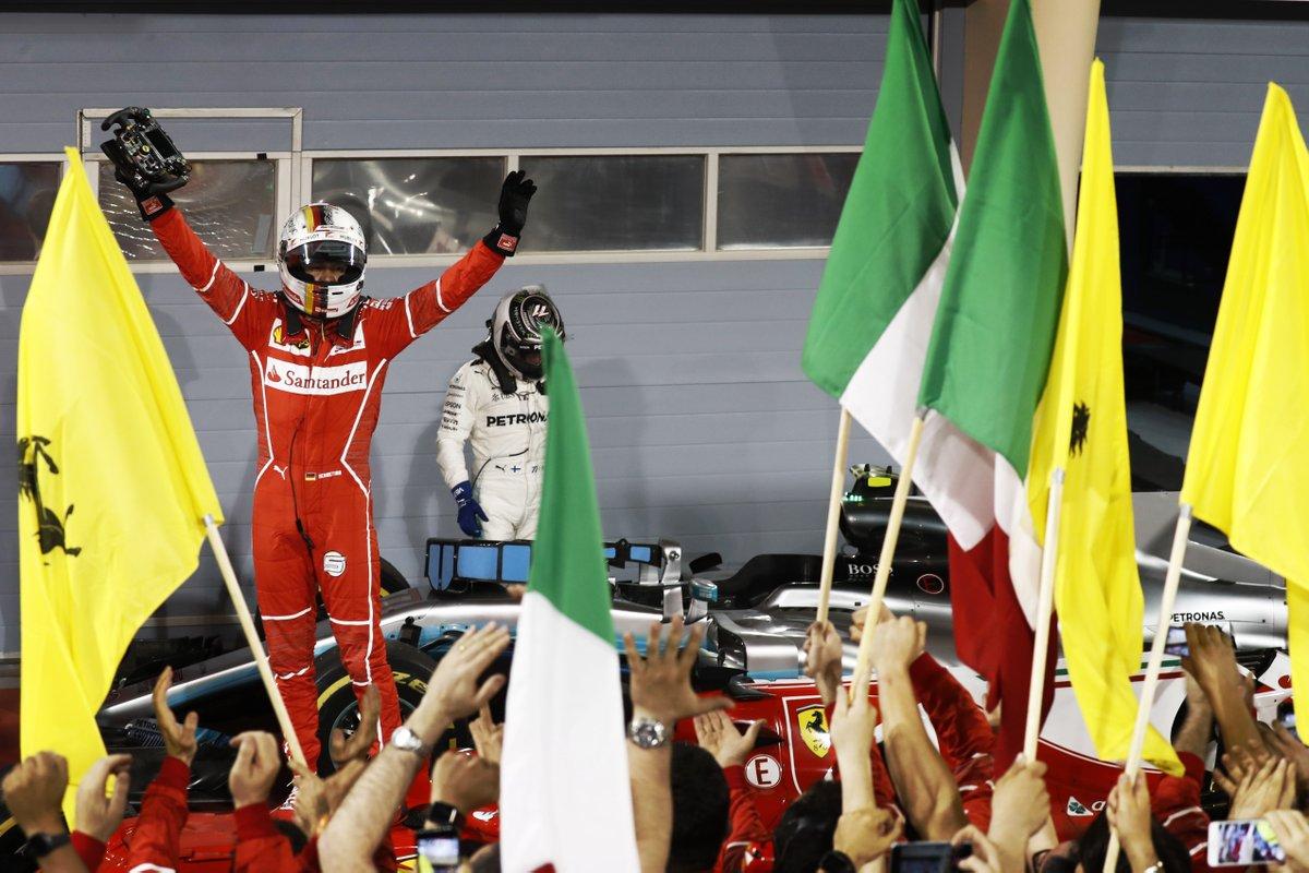Bahrain: Vettel e Ferrari brillano davanti alle Mercedes