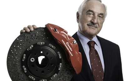 Brembo: Bombassei nell'Automotive Hall of Fame