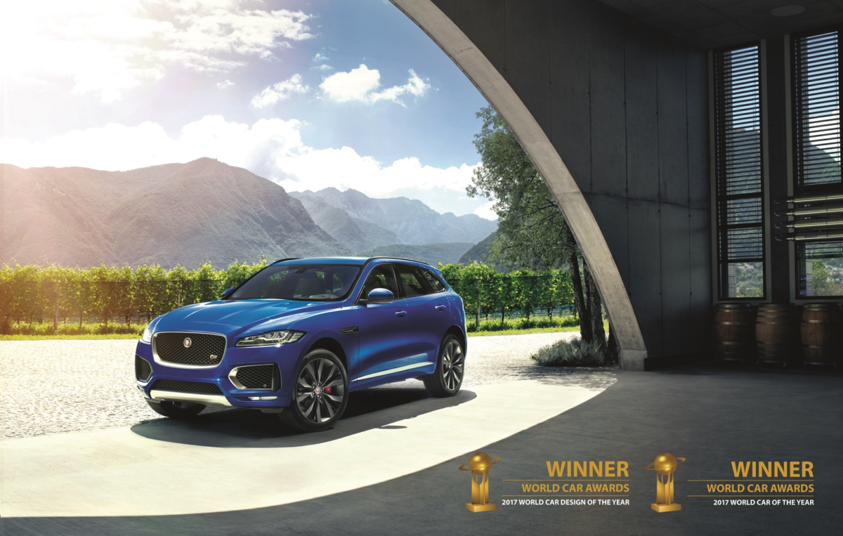 """Jaguar F-PACE """"best and most beautiful car in the world"""""""