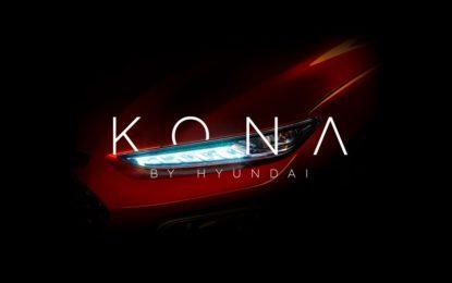 KONA, il nuovo SUV compatto Hyundai