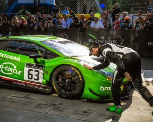 La Huracán GT3 vince il primo round Blancpain GT a Monza