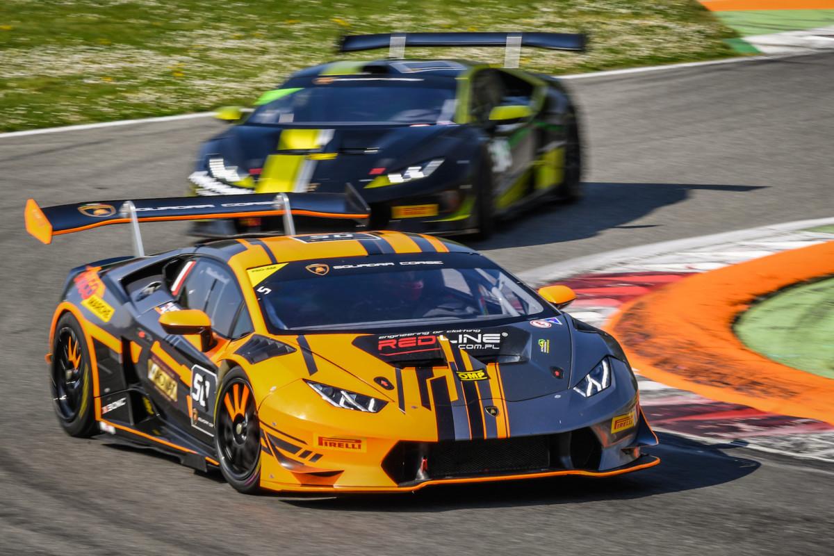 A Monza primo atto del Lamborghini Super Trofeo Europa