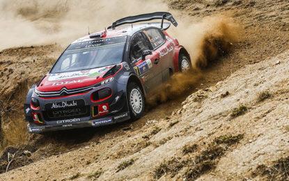 Le Citroën C3 WRC pronte per l'Argentina