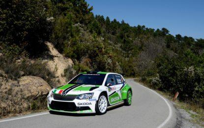 Rallye Sanremo: 3° posto in tappa 1 per Skoda