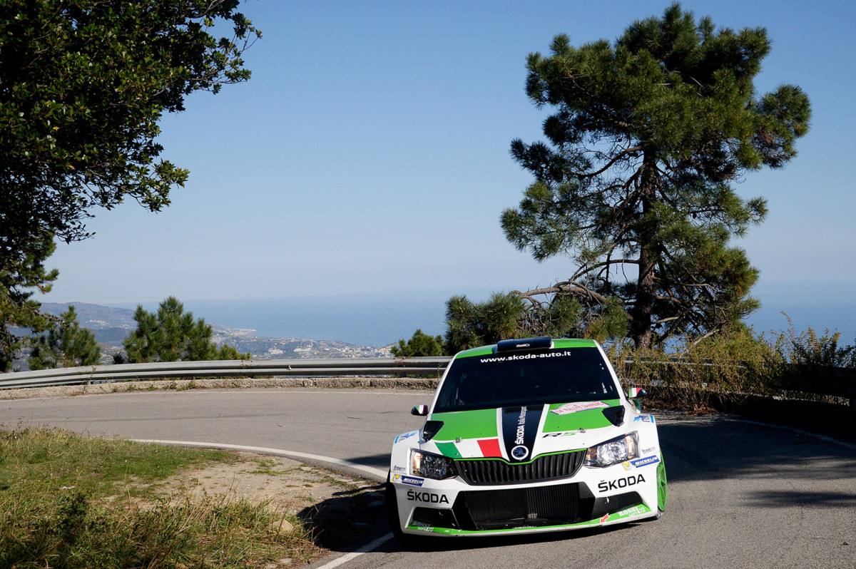 Doppio podio per la ŠKODA Fabia a Sanremo