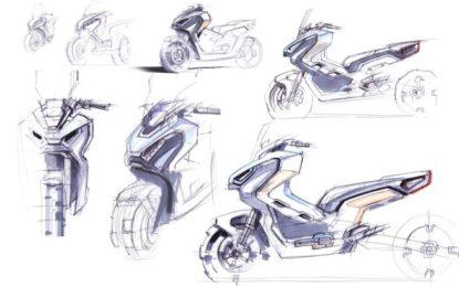 Il nuovo Honda X-ADV incontra l'arte