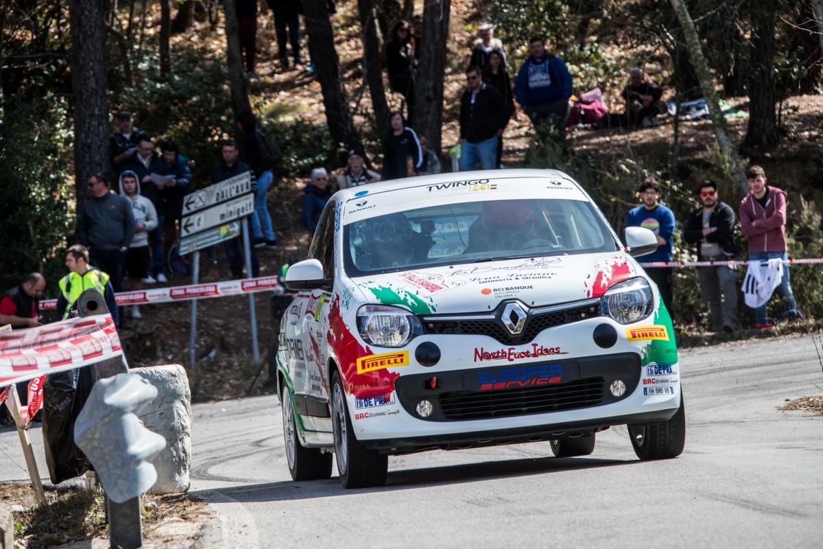 Trofei Renault: Tappa 1 a Sanremo a Bravi e Canzian