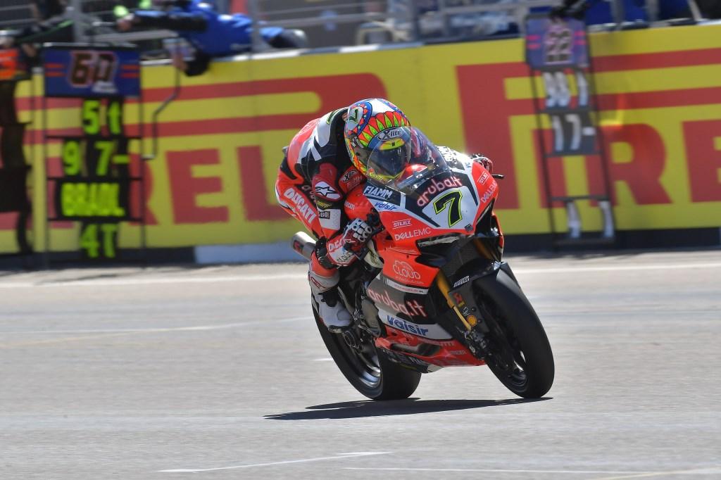 Superbike: Motorland Aragón si tinge di rosso Ducati