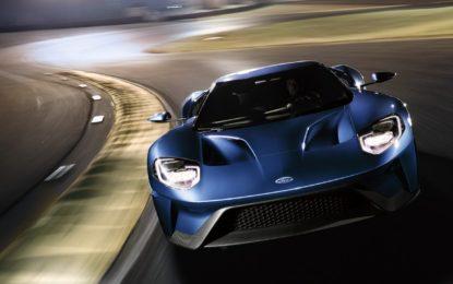 Cinque modalità di guida per la Ford GT