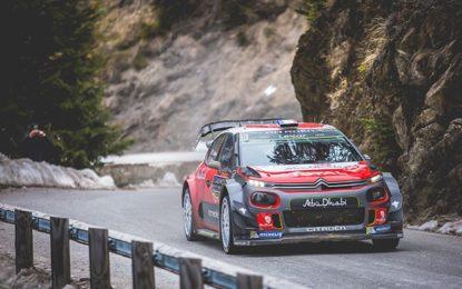 Tre Citroen C3 WRC al via in Corsica