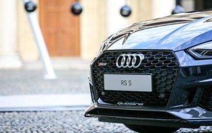 Nuova Audi RS 5 Coupé: al via la prevendita