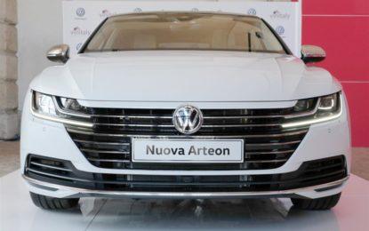 Volkswagen Arteon debutta a Vinitaly