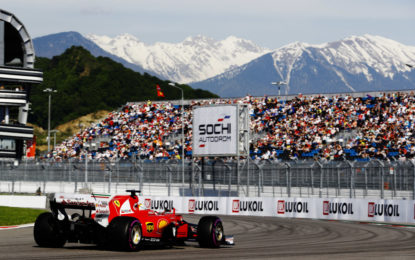 GP Russia: pole di oltre 2 secondi più veloce del 2016