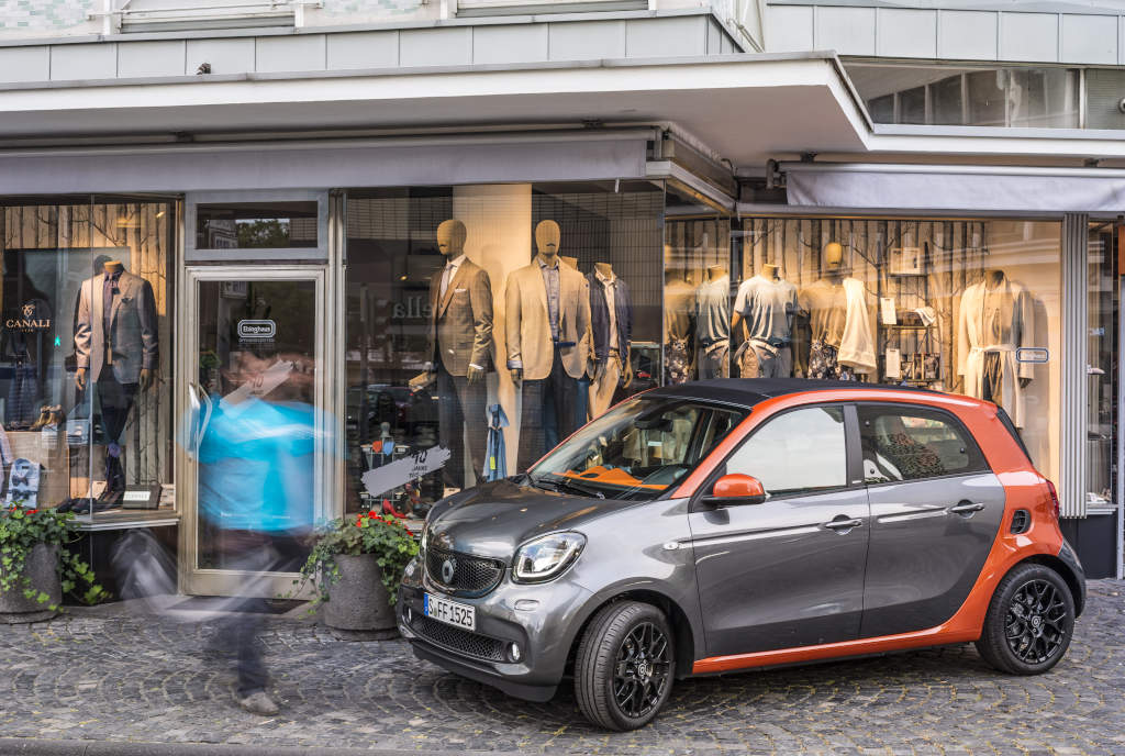 Smart matching: nuova offerta per smart forfour