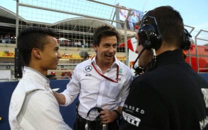 Secondo Wolff, ritorno di Wehrlein in Bahrain