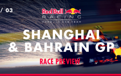 Ricciardo e Verstappen sui GP di Cina e Bahrain