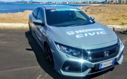 Honda sponsor auto e moto del 100° Giro d'Italia