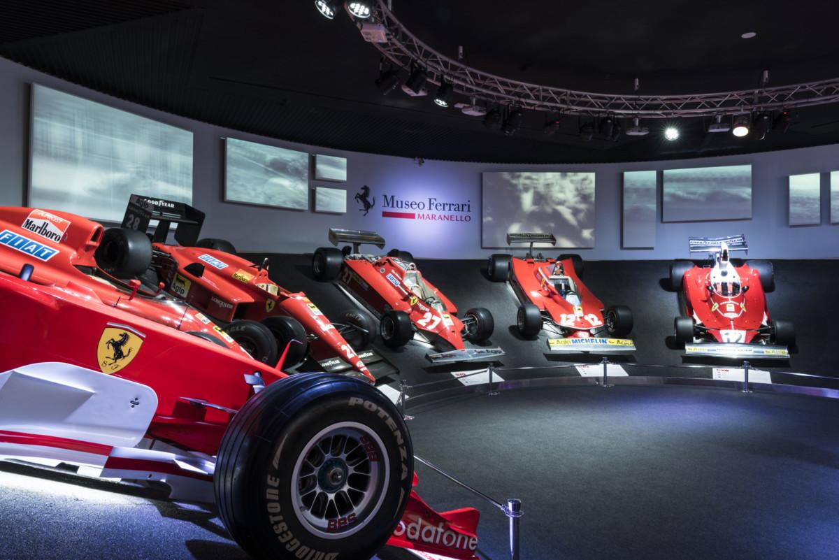Museo Ferrari di Maranello: rinnovamento con due mostre