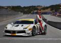 Michael Fassbender in gara nel Ferrari Challenge
