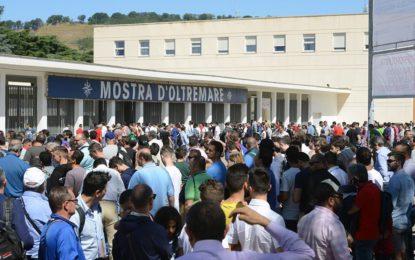 Fisichella e tanto pubblico al Napoli Motorshow