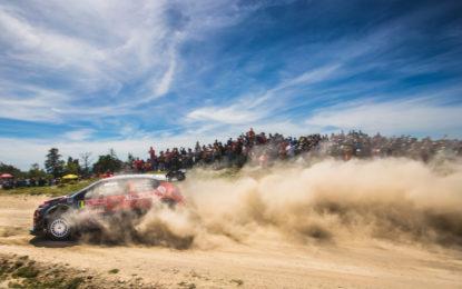 Il punto Citroën C3 WRC al Rally del Portogallo