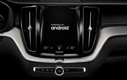 Volvo e Google per integrare il nuovo sistema Android