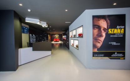 Vivere Ayrton Senna nella mostra unica al Museo Lamborghini