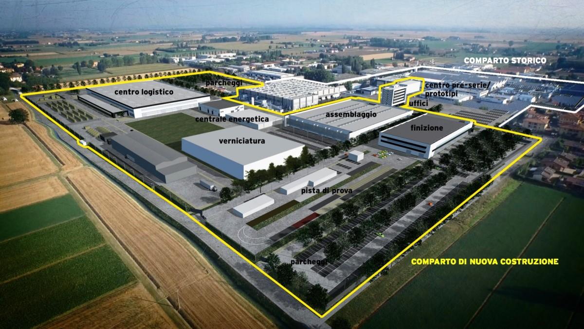 Lamborghini: lo stabilimento verniciatura per Urus