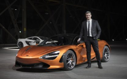 Rob Melville Design Director McLaren Automotive
