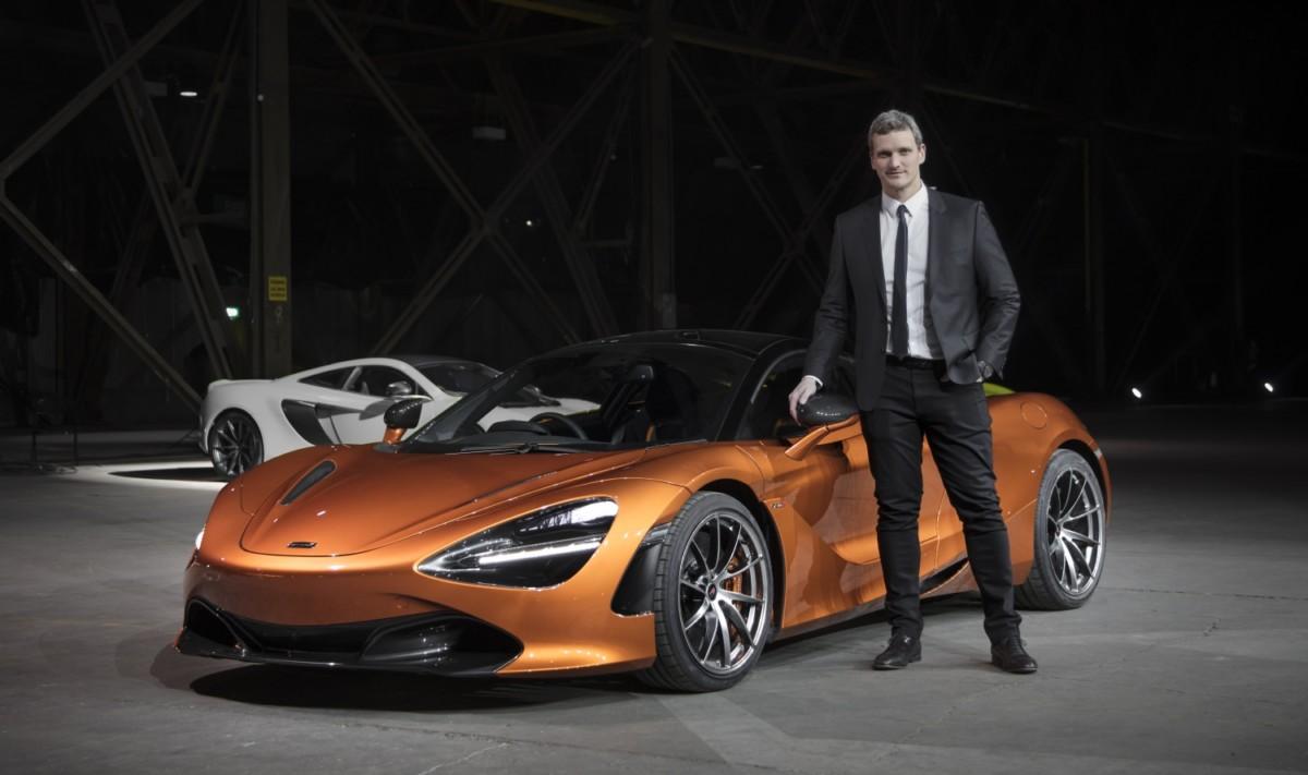 Rob Melville Design Director McLaren Automotive