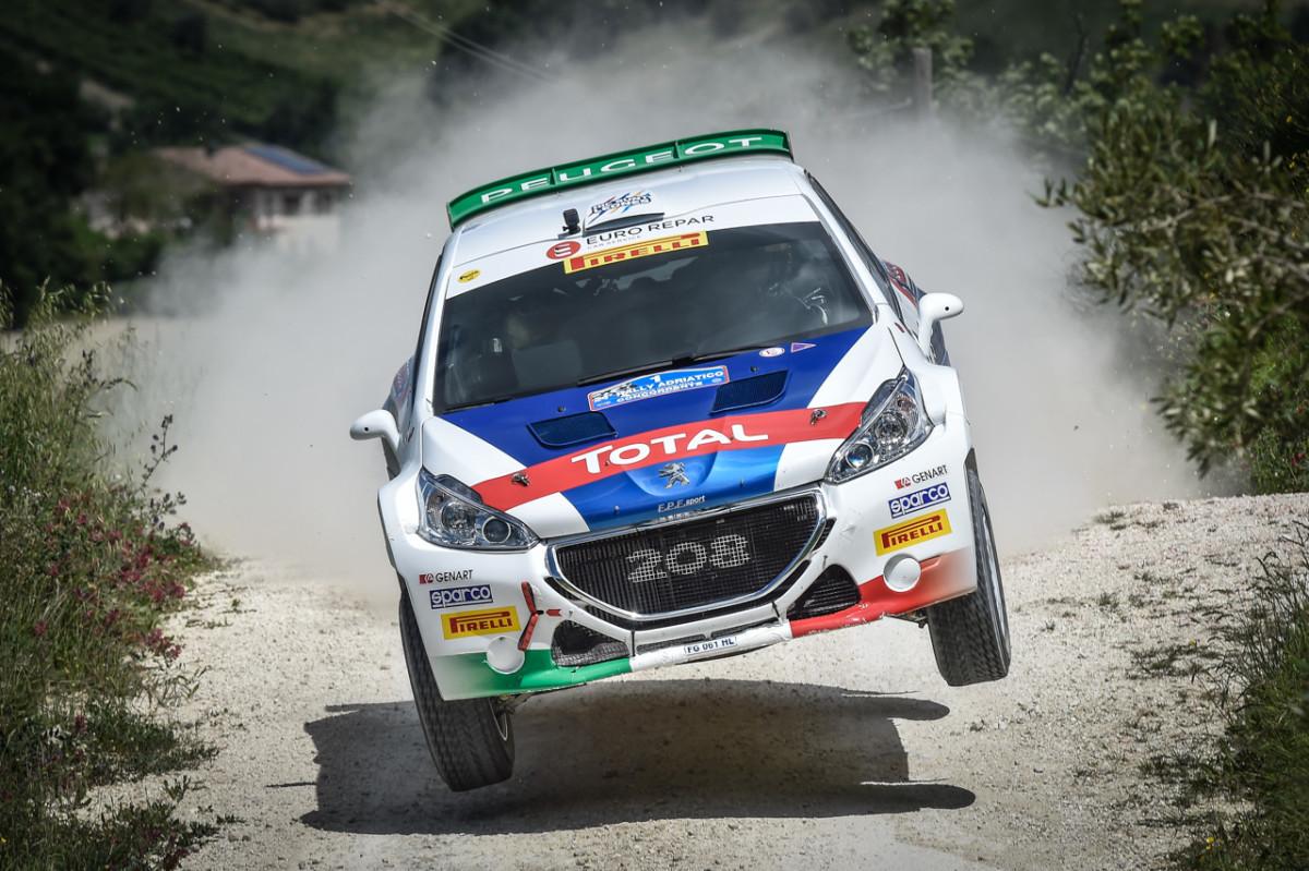 Adriatico: Peugeot al secondo posto in classifica generale